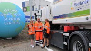 """Groengasvloot Meerlanden """"tankt"""" gelijktijdig zelf ingezameld gft-afval"""