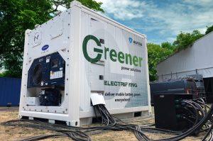 Greener en Alfen voorzien festivalseizoen deze zomer van schone batterij-energie