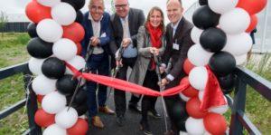 Biobased brug op Schiphol Logistics Park geopend