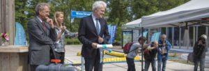 Proeftuin WaterStraat voor klimaatbestendige stad geopend