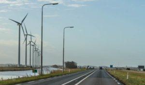 Autoweg N9 krijgt duurzame ledverlichting, tussen Alkmaar en De Kooy bij Den Helder