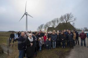 Allereerste Buurtmolen geopend in Herbaijum; de kleine, stillere windmolen