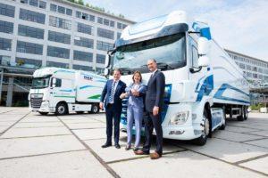 VDL Groep en DAF presenteren elektrische truck