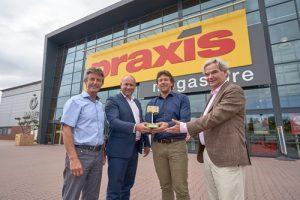 Praxis beloond met Wecycle Gouden Bakkie Award voor grootscheeps duurzaamheidsproject