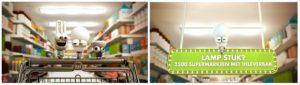 Supermarkt favoriet om energiezuinige lampen in te leveren,  echter onvoldoende bekend
