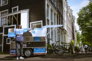 Albert Heijn start proef met bezorgfiets