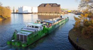 Elektrische vrachtvaart op batterijen en waterstof