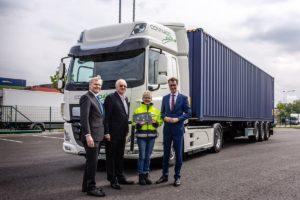 Twee DAF's CF Electric voor Rhenus Logistics in Duitsland