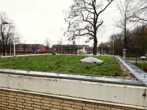 Rioolgemaal Fuchslaan (Utrecht) krijgt groen dak