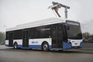 31 elektrische VDL Citea's voor stadsvervoer in Amsterdam