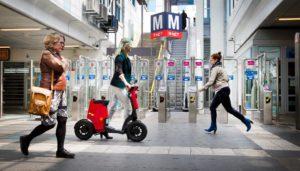 GiGi, eerste opvouwbare elektrische scooter ter wereld