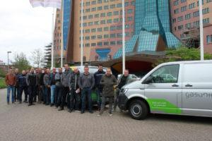 Gasunie vervangt 199 bedrijfswagens door wagens op groen gas met lage CO2-uitstoot