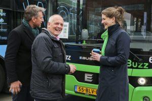 Groot deel van bussen in het openbaar vervoer wordt elektrisch