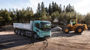Volvo Trucks presenteert zware elektrische concepttrucks voor bouw en regionaal transport