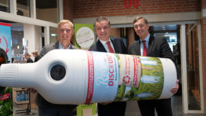Recycling Avans Hogeschool naar 'next level' met inzameling PET-flessen