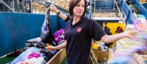 ReShare sluit textielketen met nieuw sorteercentrum