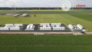 GIGA Storage en Eneco realiseren samen grootste batterij van Nederland