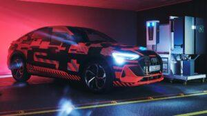 Audi maakt auto's onderdeel elektriciteitsnet bidirectional charging