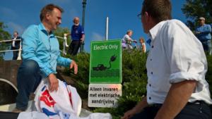 """""""Electric-only"""" vaarroutes in Fryslân"""