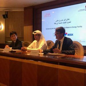 BESIX bouwt in Dubai een van 's werelds grootste centrales op basis van thermische valorisatie van afval