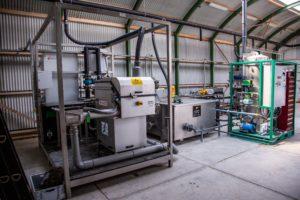 Testen techniek voor de Waterfabriek Wilp van start