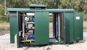 Liander heeft eerste groen gas booster in Zeewolde in gebruik