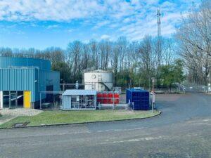 Samenwerking: minder CO₂, stikstof en fijnstof door lokaal gebruik biogas op bouwplaats