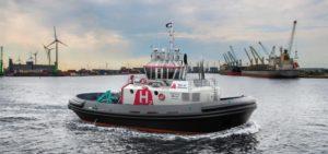 Wereldprimeur haven van Antwerpen: eerste waterstof aangedreven sleepboot