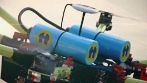 Duurzame drones met waterstoftechnologie van Holthausen