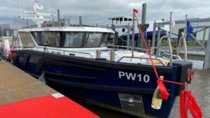 Duurzaam inspectieschip de PW10 officieel gedoopt