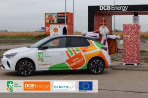 OrangeGas, met 10 snelladers, grootste EV plein bij Schiphol geopend
