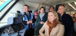 Testen waterstoftrein in Groningen succes