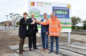 Zuid-Holland heeft primeur met eerste CO2-negatieve weg