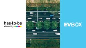 EVBox en has·to·be werken samen voor uitbreiding netwerk en naadloze laadervaring in Europa