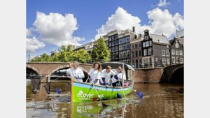 Ecover vist naar drijfplastic tijdens Dordt in Stoom