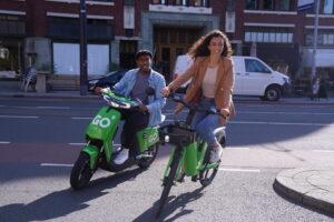 GO Sharing breidt aanbod uit met elektrische deelfietsen