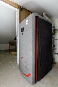 Bestaande woningbouw aardgasvrij met hoge temperatuur warmtepompsysteem