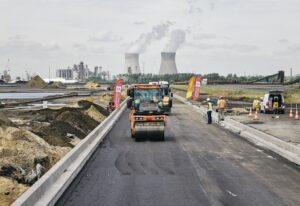 Universiteit Antwerpen en Port of Antwerp ontwikkelen asfalt van de toekomst