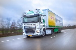 DAF CF Electric voor Tinie Manders Transport uit Geldrop