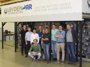 LeydenJar opent proeffabriek voor superbatterijen