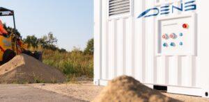 Emissieloze Hydrozine aggregaat voor de bouwplaats