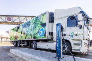 Albert Heijn zet in op emissievrije bevoorrading binnensteden