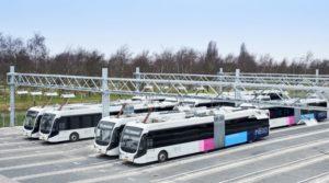 Grootste elektrische busvloot van Europa rijdt op en rond Schiphol