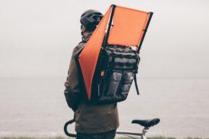 Eneco introduceert Windrugzak om sneller te kunnen fietsen