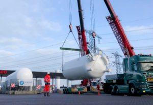 Oudste LNG-station van Nederland wordt volledig vernieuwd