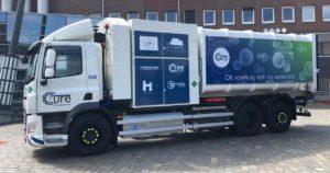 Eerste vuilniswagens op waterstof rijden in regio Eindhoven