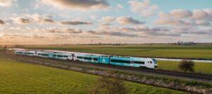 Innovatieve testen met trein op batterij