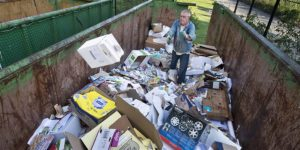 Via recycling 9 procent van materialen weer in economie
