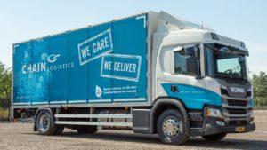 Chain Logistics koopt Scania LNG bakwagen