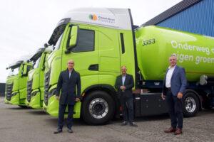 Drie IVECO S-WAY NP's op 100% BIO-CNG voor Darvi Transport